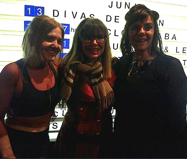 las Divas de Divan con Maria Carambula en Boris Club